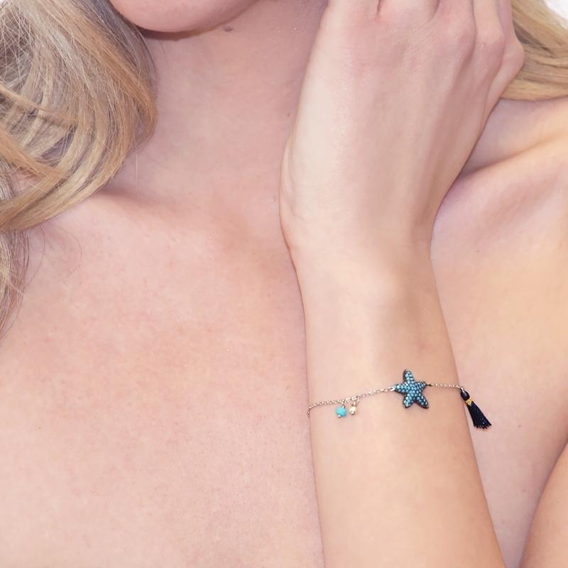 - Starfish bracelet - PU269 AT