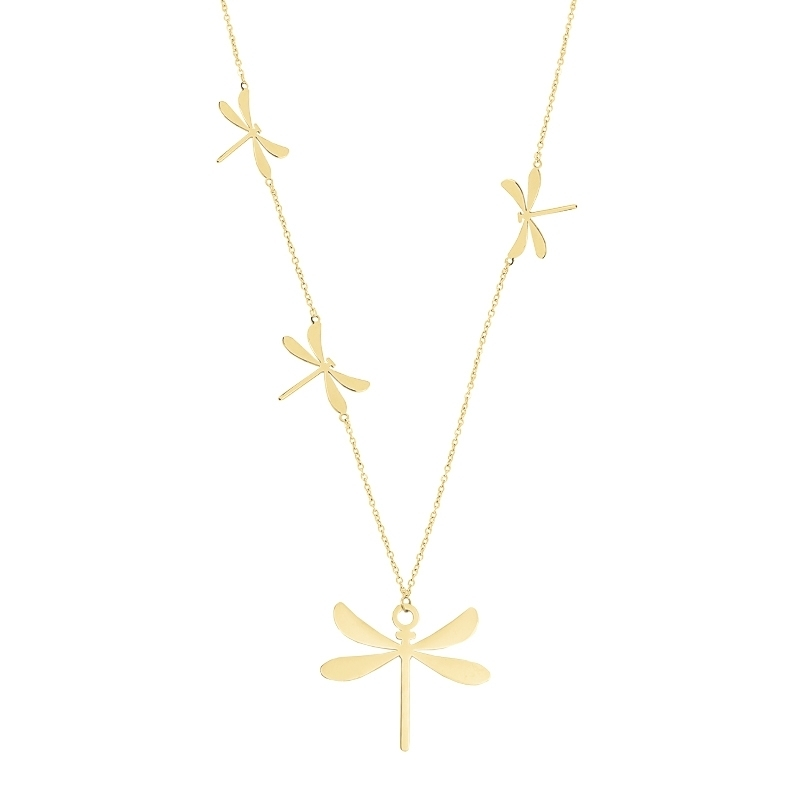 - Dragonfly multi necklace - COA506 D
