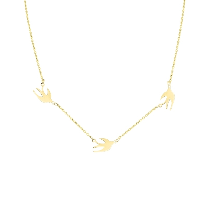 - Swallow necklace - COA503 D