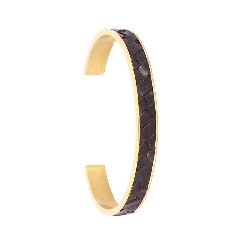 - Leather bracelet for man - APU792 D