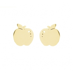 - Apple earrings - APE816 D