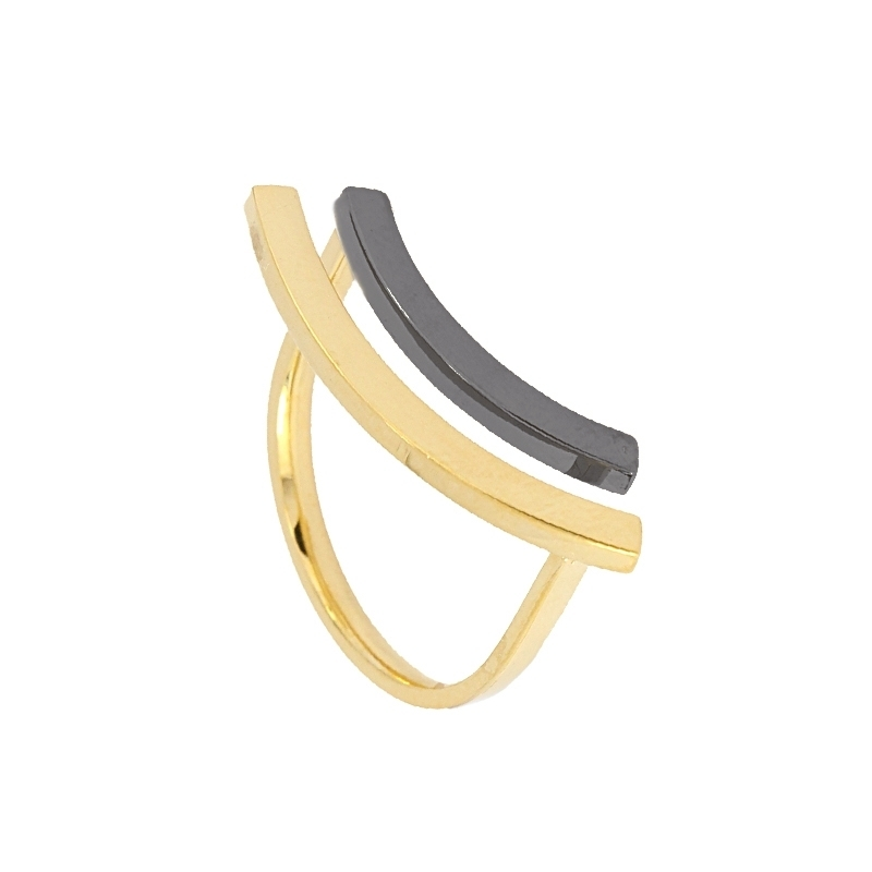 - Geometric ring - AAN368 D