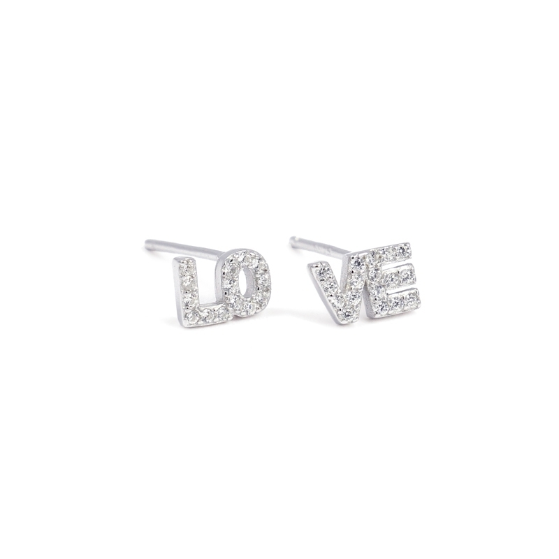 Love earrings  PE348