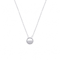 Circle necklace CO160