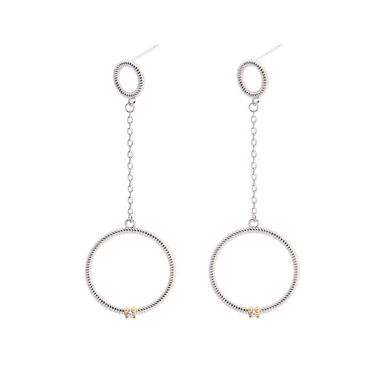 Circle earrings  PE363