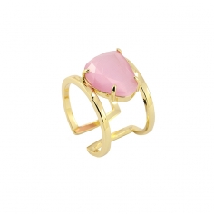 Cat eye stone ring  AAN389