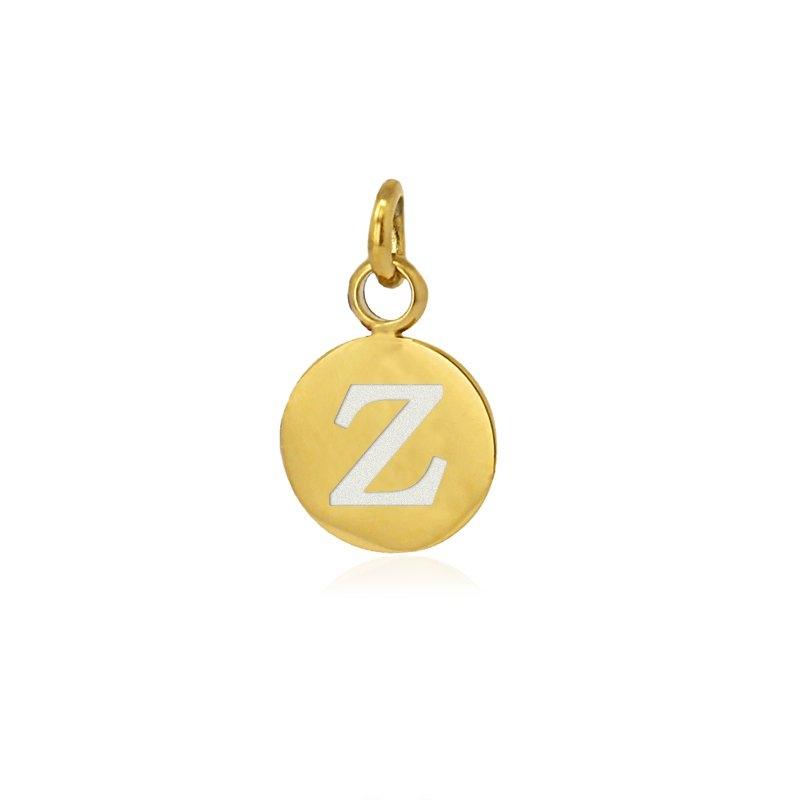 Medalla letra Z