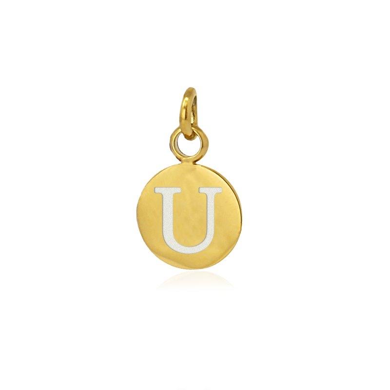 Medalla letra U