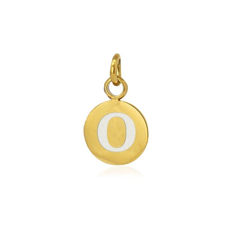 Medalla letra O