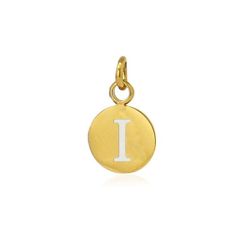 Medalla letra I