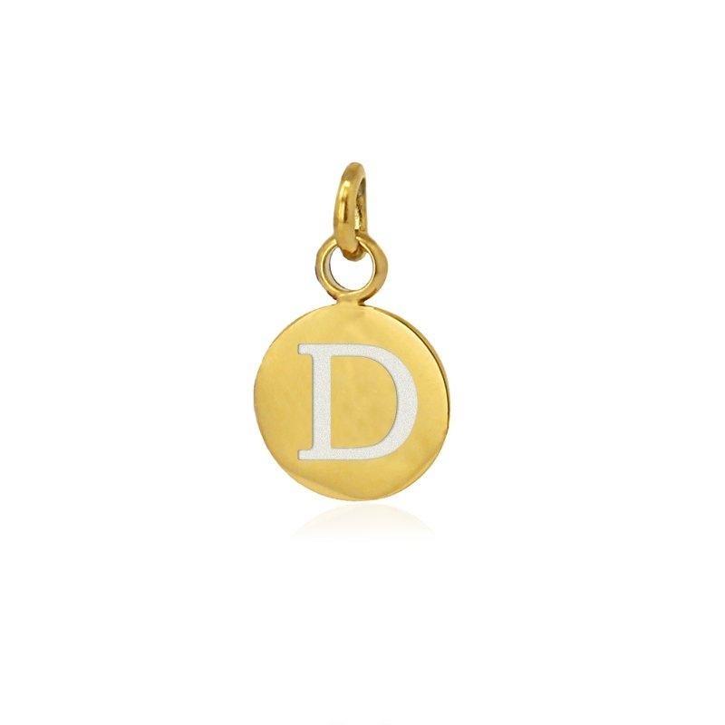 Medalla letra D