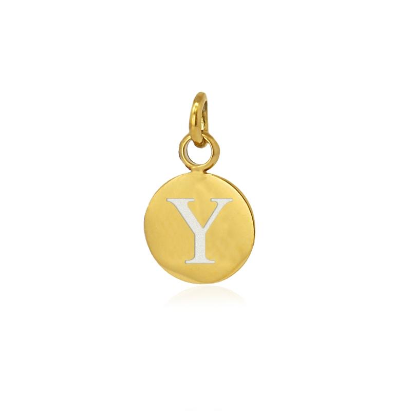 Medalla letra Y