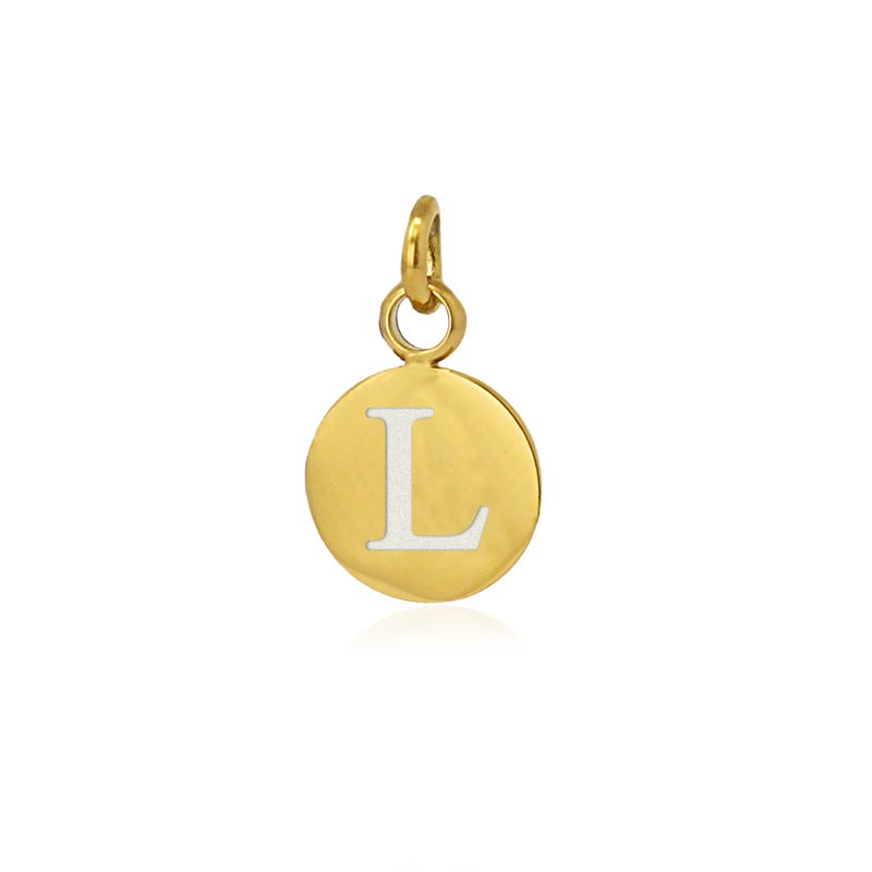 Medalla letra L