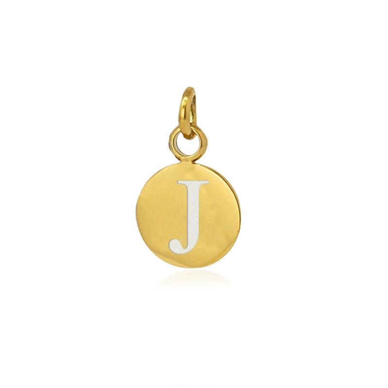 Medalla letra J