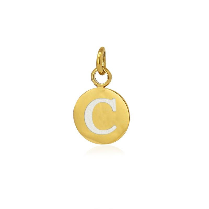 Medalla letra C